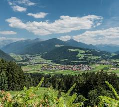 Valdaora/Olang in the Puster Valley in South Tyrol