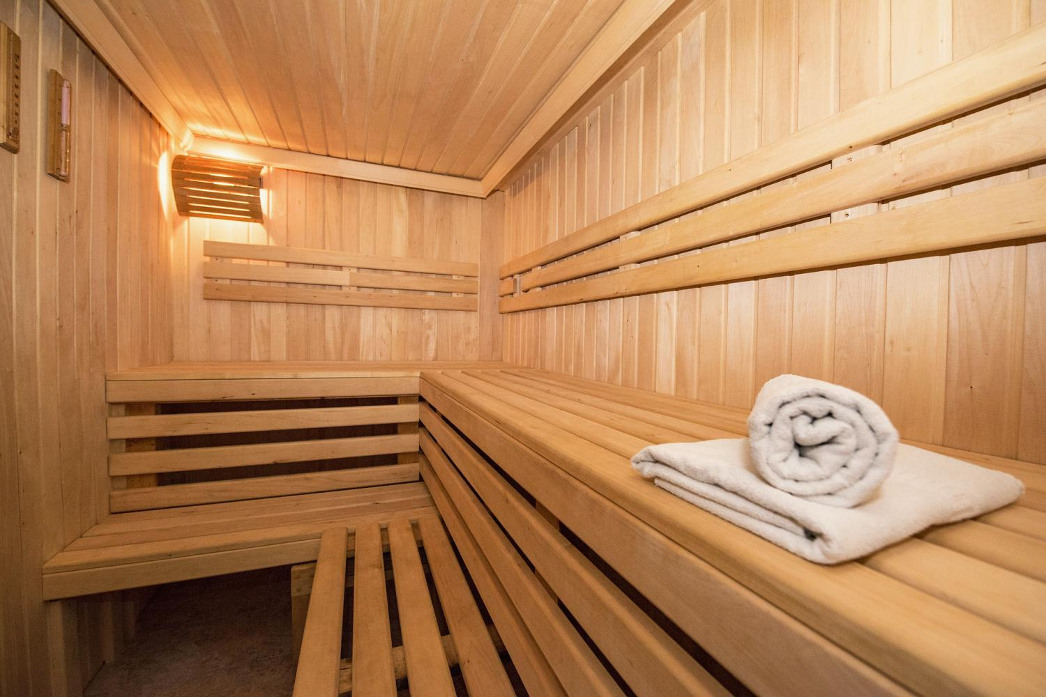 Finnish sauna for our guests